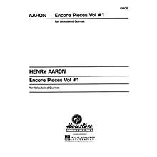 Houston Publishing Encore Pieces for Woodwind Quintet, Vol. 1 (Oboe) Houston Publishing Series Arranged by Henry Aaron