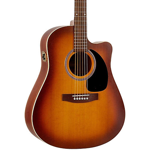Seagull Entourage Rustic CW QIT Acoustic-Electric Guitar-thumbnail