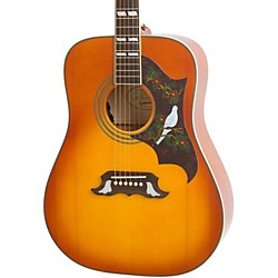 Epiphone Dove Pro Acoustic-Electric Guitar (EEDVVBNH1)