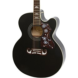 Epiphone EJ-200CE Acoustic-Electric Guitar (EEJ2BKGH1)