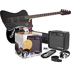 Epiphone Goth Thunderbird IV All Access Bass Pack (KIT773179)