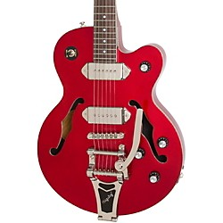 Epiphone Wildkat Red Royale Hollowbody Electric Guitar (ETWKRPNB3)