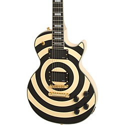 Epiphone Zakk Wylde Bullseye Les Paul Custom Plus Electric Guitar (ENZWAIGH1)