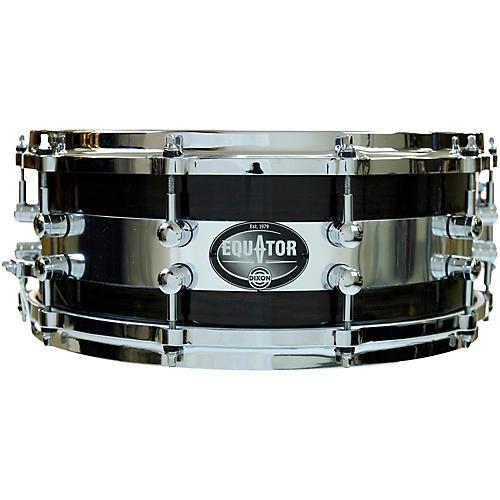 Dixon Equator Series Oak/Steel Snare Drum-thumbnail