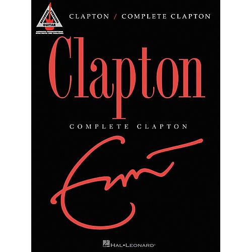 Hal Leonard Eric Clapton Complete Clapton Guitar Tab Songbook-thumbnail