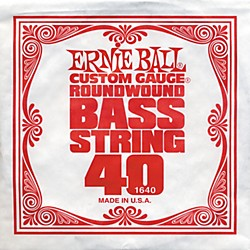 Ernie Ball 1640 Single Bass Guitar String (1640)