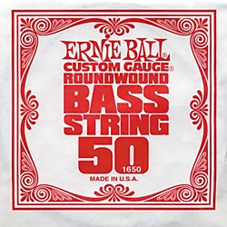 Ernie Ball 1650 Single Bass Guitar String (1650)