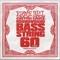 Ernie Ball 1660 Single Bass Guitar String (1660)