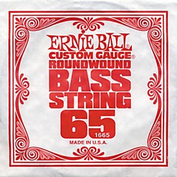 Ernie Ball 1665 Single Bass Guitar String (1665)