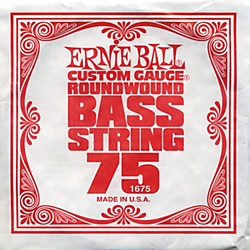 Ernie Ball 1675 Single Bass Guitar String (1675)