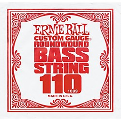 Ernie Ball 1699 Single Bass Guitar String (1699)