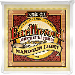 Ernie Ball 2067 Earthwood 80/20 Bronze Mandolin Light Strings (P02067)