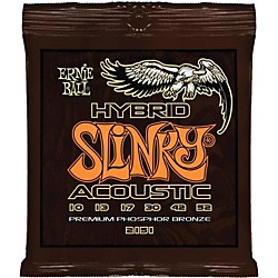 Ernie Ball 2151 Hybrid Slinky Acoustic Guitar Strings (P02151)