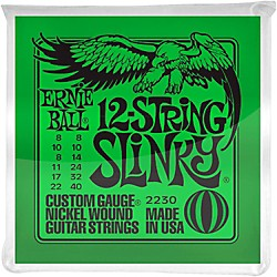 Ernie Ball 2230 Nickel 12-String Slinky Electric Guitar Strings (P02230)