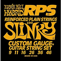 Ernie Ball 2241 Hybrid Slinky RPS 9 Electric Guitar Strings (P02241)