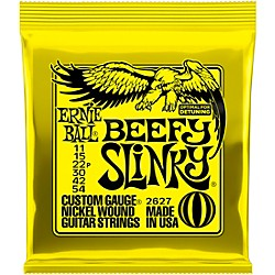 Ernie Ball 2627 Nickel Beefy Slinky Drop Tuning Electric Guitar Strings (P02627)