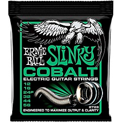 Ernie Ball 2726 Cobalt Not Even Slinky Electric Guitar Strings (P02726)