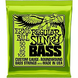 Ernie Ball 2832 Regular Slinky Round Wound Bass Strings (P02832)
