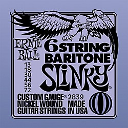 Ernie Ball 2839 Baritone Electric Guitar String Set (P02839)