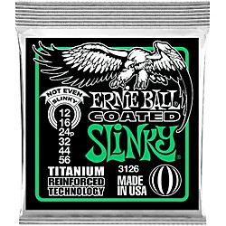Ernie Ball 3126 Coated Electric Not Even Slinky Guitar Strings (3126)