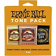 Ernie Ball Ernie Ball Light Acoustic Guitar String Tone Pack