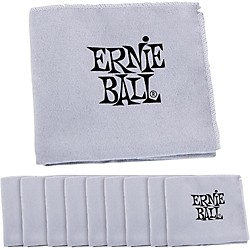Ernie Ball Polish Cloth 10-Pack (4220-10PK)