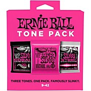 Ernie Ball Ernie Ball Super Slinky Electric Guitar StringTone Pack