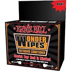 Ernie Ball Wonder Wipe Fretboard Conditioner 6-pack (P04276)