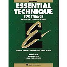 Hal Leonard Essential BassTechnique