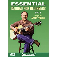Homespun Essential DADGAD for Beginners Instructional/Guitar/DVD Series DVD Written by Artie Traum