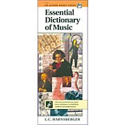 Alfred Essential Dictionary of Music  Handy Guide