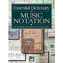 Alfred Essential Dictionary of Music Notation  Pocket Size Book