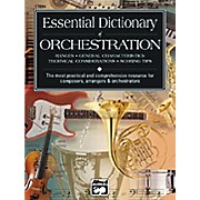 Alfred Essential Dictionary of Orchestration Book