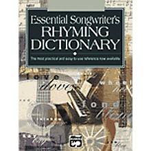 Alfred Essential Dictionary of Songwriter's Rhymes