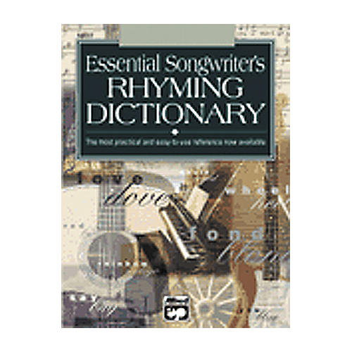 Alfred Essential Dictionary of Songwriter's Rhymes-thumbnail