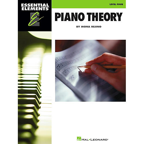 Hal Leonard Essential Elements - Piano Theory Level 4