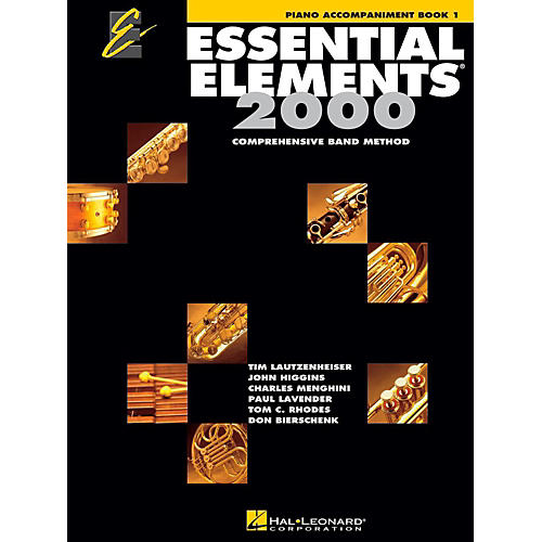 Hal Leonard Essential Elements 2000 for Band - Piano Accompaniment (Book 1)-thumbnail
