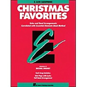 Hal Leonard Essential Elements Christmas Favorites E Flat Alto Saxophone