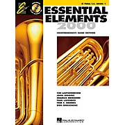 Hal Leonard Essential Elements E-Flat Tuba T.C. Book 1 Book/CD