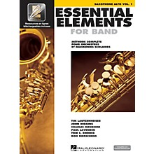 Hal Leonard Essential Elements EE2000 Alto Saxophone Essential Elements for Band Series Book Media Online