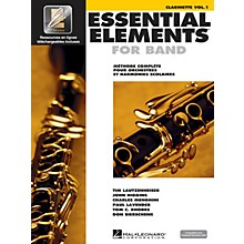 Hal Leonard Essential Elements EE2000 Clarinet B-flat Essential Elements for Band Series Softcover Media Online
