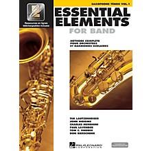 Hal Leonard Essential Elements EE2000 Tenor Saxophone Essential Elements for Band Series Book Media Online