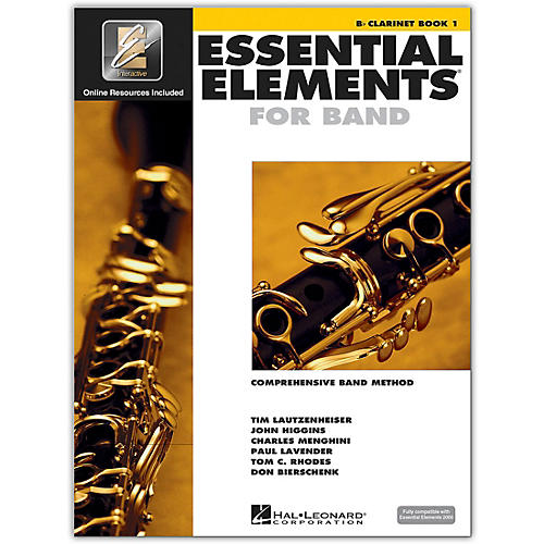 Hal Leonard Essential Elements for Band - Bb Clarinet (Book 1 with EEi)-thumbnail