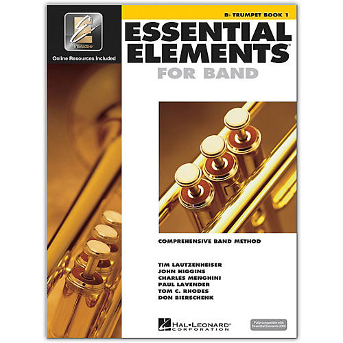 Hal Leonard Essential Elements for Band - Bb Trumpet (Book 1 with EEi)-thumbnail
