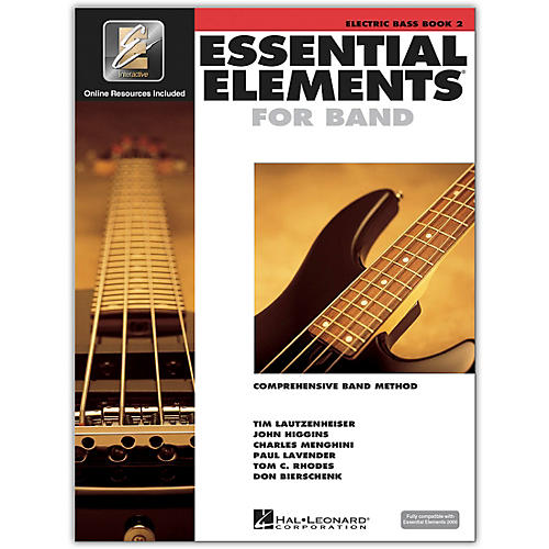 Hal Leonard Essential Elements for Band - Electric Bass (Book 2 with EEi)-thumbnail