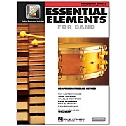 Hal Leonard Essential Elements for Band - Percussion and Keyboard Percussion (Book 2 with EEi)