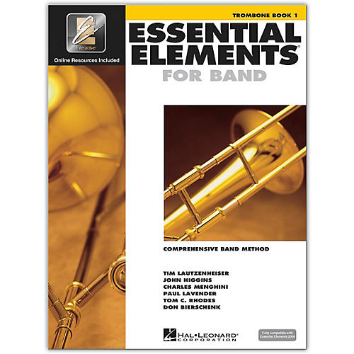 Hal Leonard Essential Elements for Band - Trombone (Book 1 with EEi)-thumbnail