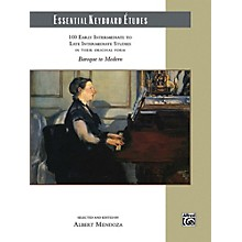 Alfred Essential Keyboard Etudes Comb Bound Book Early Intermediate to Late Intermediate