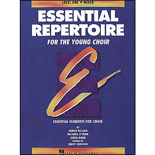 Hal Leonard Essential Repertoire for The Young Choir Level One (1) Mixed/Student-thumbnail