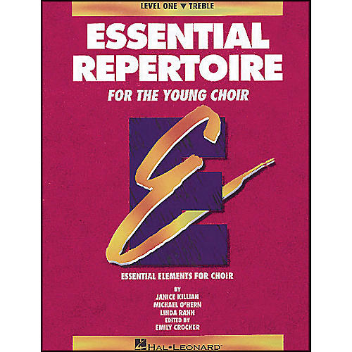 Hal Leonard Essential Repertoire for The Young Choir Level One (1) Treble/Student